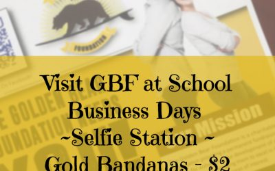 Do Your Selfie a Favor and Stop by GBF's Booth on School Business Days