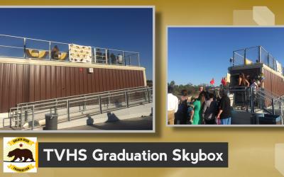Graduation Skybox and VIP Seating